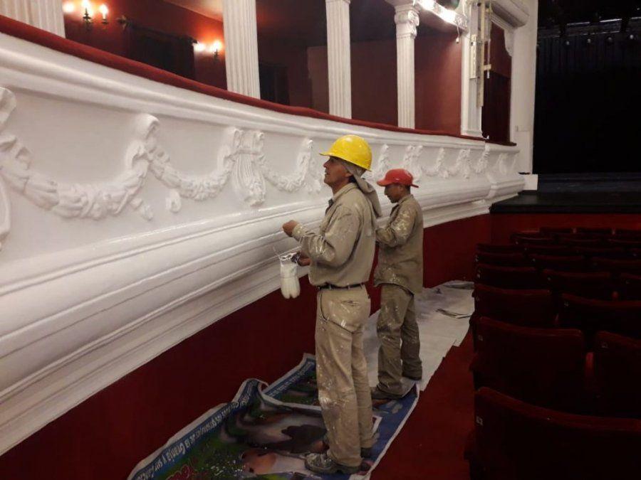 Imagen de archivo: en el Teatro ya se intervino anteriormente desde el MISPTyV