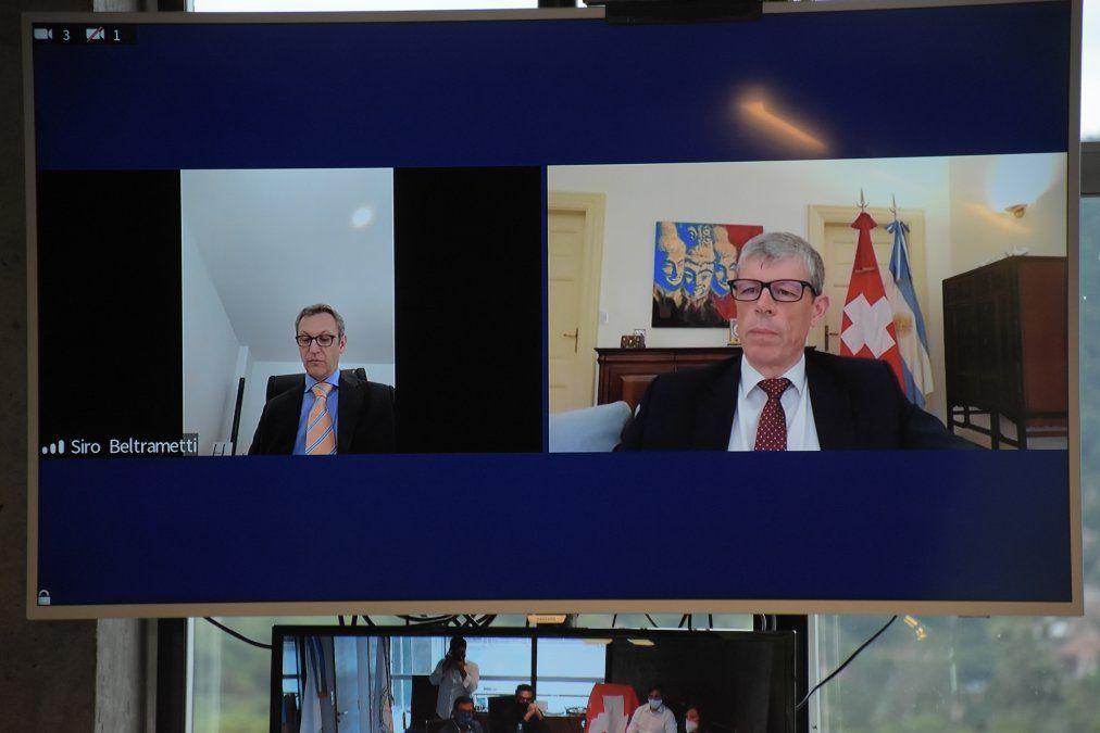 Jujuy y Suiza perfilan agenda de interés común