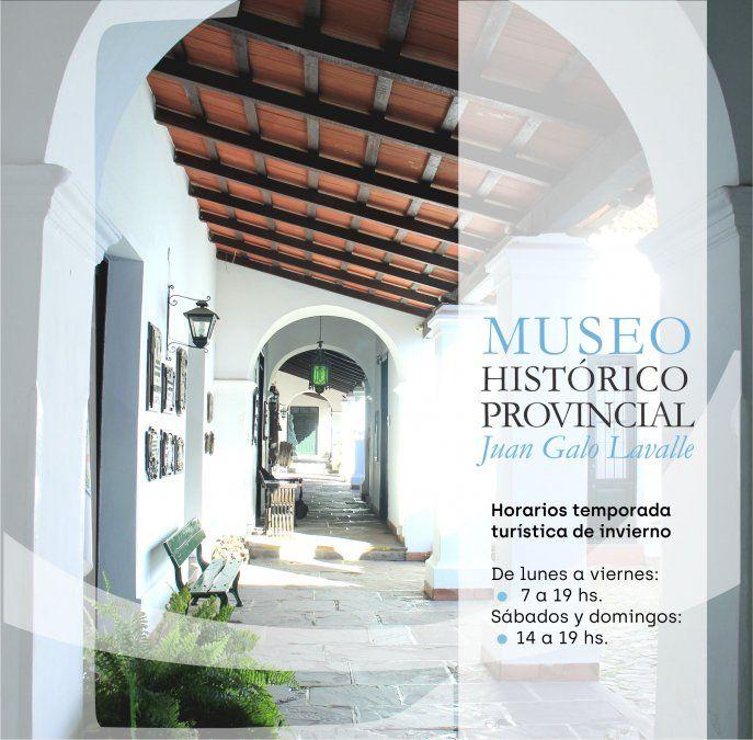 Amplían horarios de visitas en museos provinciales