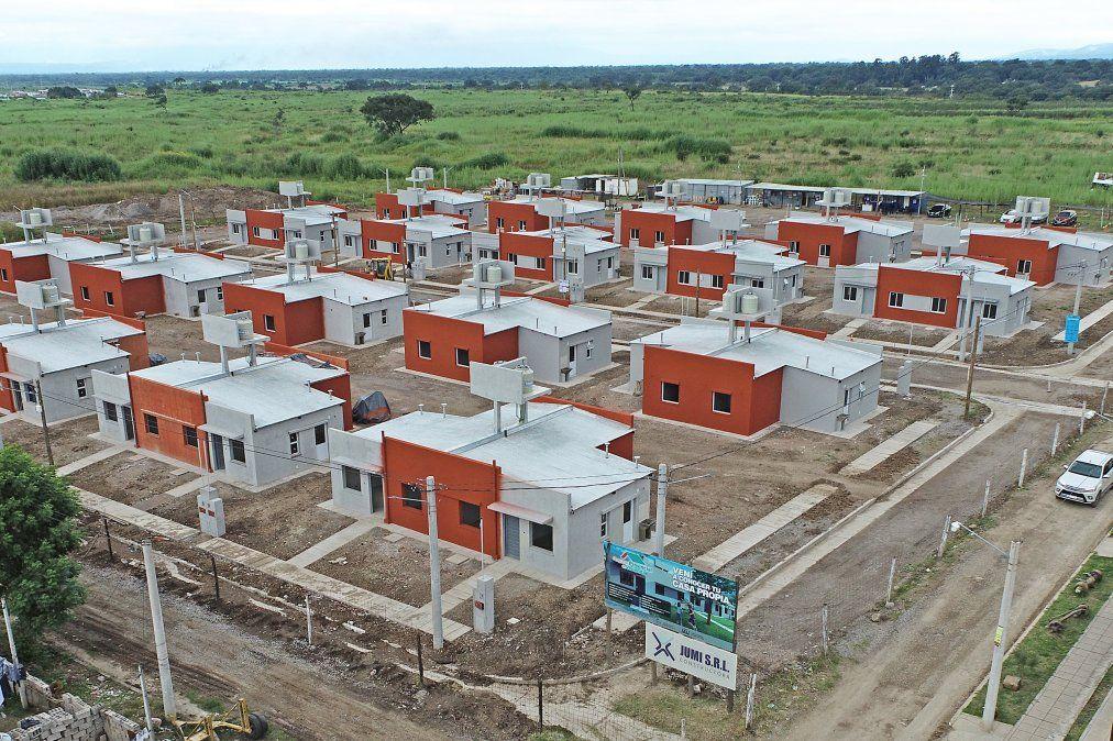 Empresa JUMI SRL lleva adelante la construcción de 41 viviendas e infraestructura en Alto Comedero