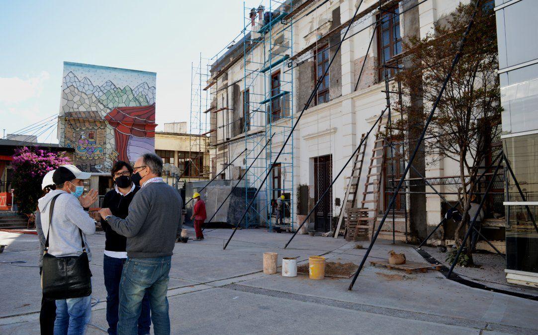 El Plan Integral de obras para el Teatro Mitre implican abordaje de su fachada principal y dos laterales