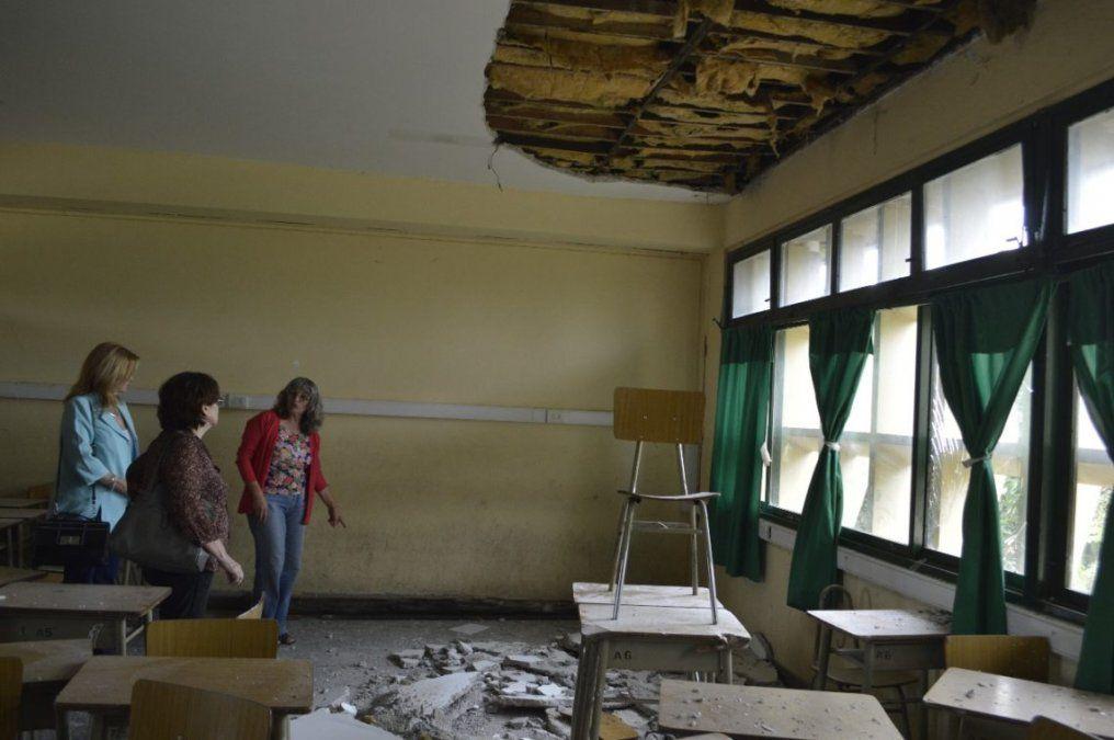 Realizarán trabajos en la Escuela Michaud de El Carmen