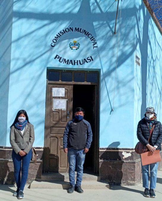 El Consejo de la Mujer en Pumahuasi