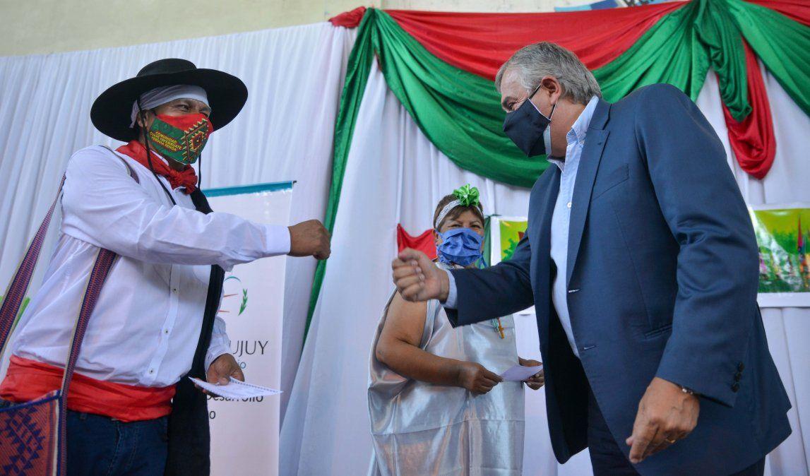 Morales llevó su saludo al pueblo Guaraní