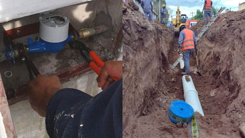 Agua y cloacas para el barrio Las Tipas en Palpalá