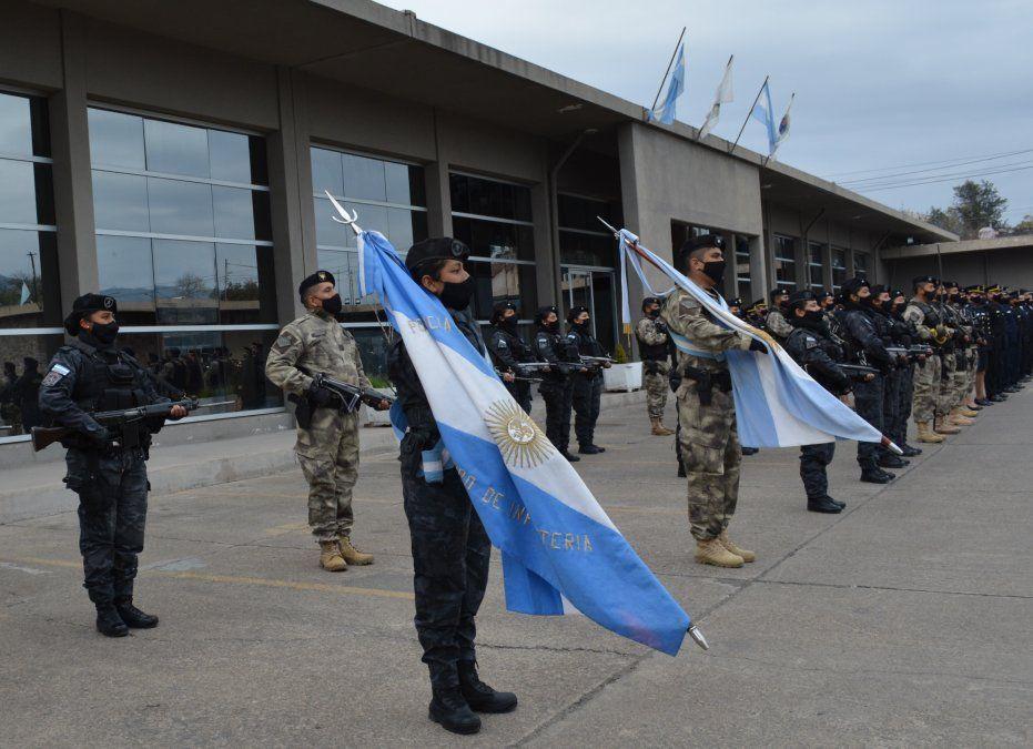 Acto por el Día de la Policía de Jujuy