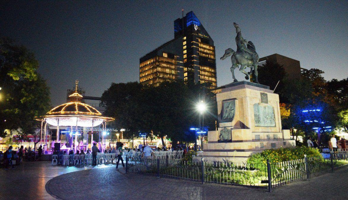 Plaza Libertad de la ciudad de Santiago del Estero