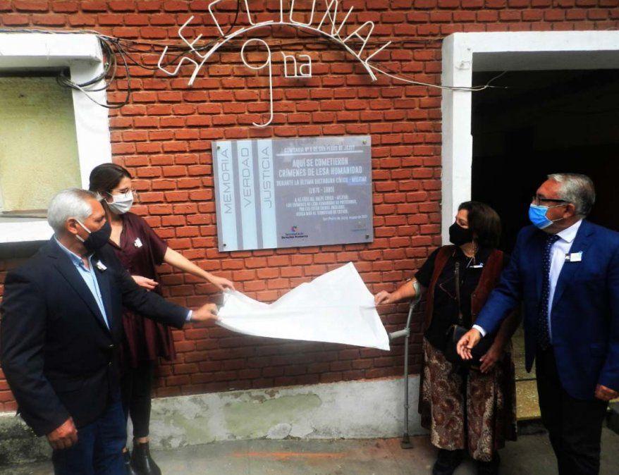 Día de la Memoria: Señalizaron un ex Centro Clandestino