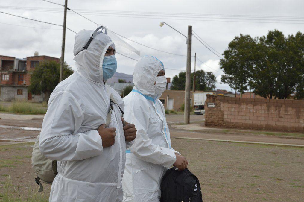 En Abra Pampa se rastrillaron en busca de sintomáticos Covid