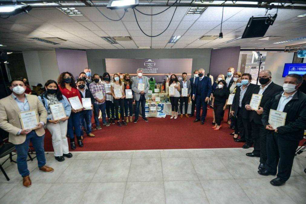 Sello distintivo origen Jujuy Energía Viva: Se entregaron   distinciones a empresas jujeñas