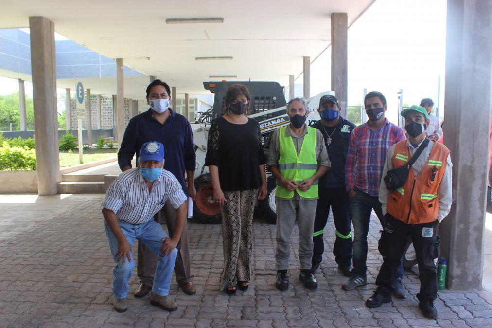 Funcionamiento de la Estación de Transferencia y Clasificación de San Pedro