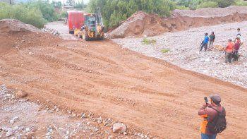 Recursos Hídricos brinda asistencia en Tilcara y Maimará