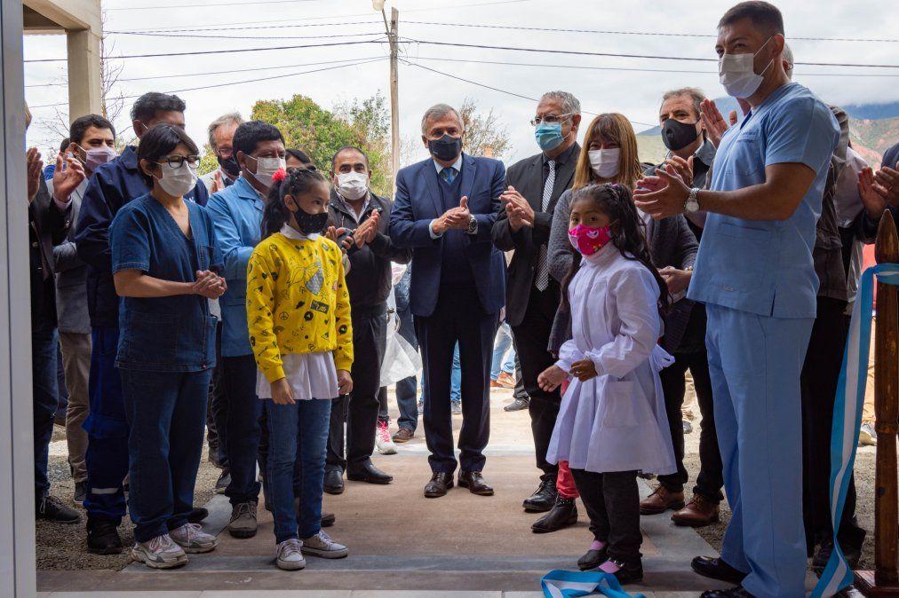 Nuevo centro de salud para Volcán