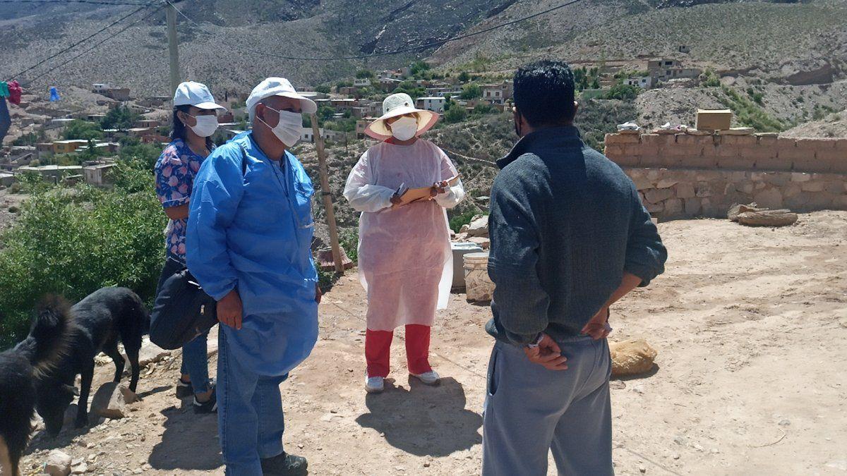 Intensivo rastrillaje de 3 días en la Quebrada