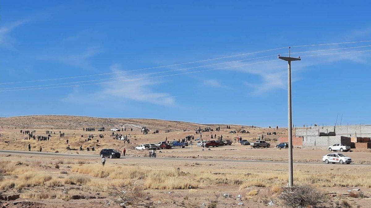 El Gobierno no permitirá la usurpación de tierras