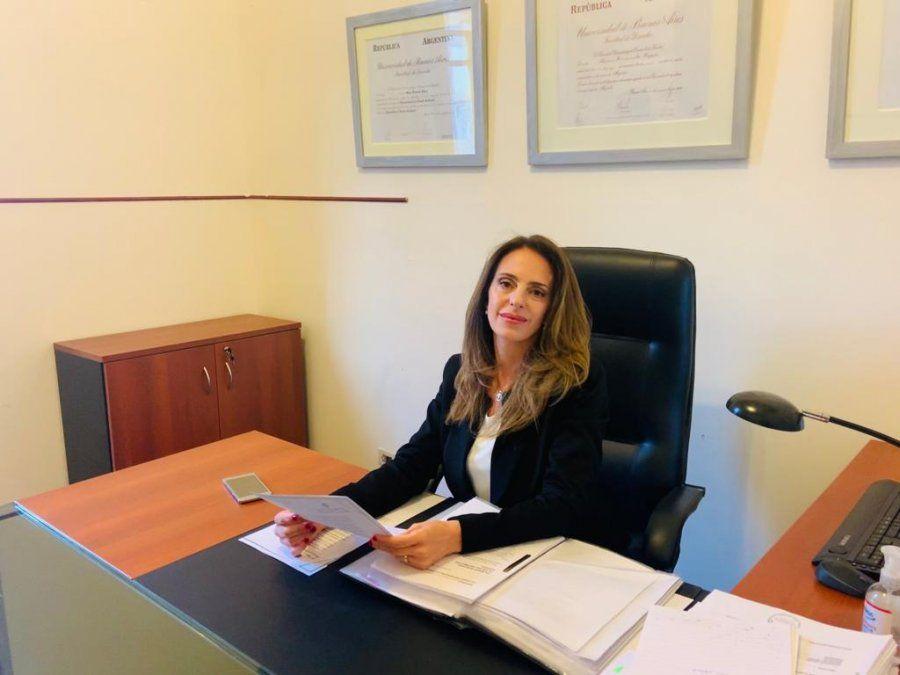 Doctora Fernanda Yapur a cargo del Juzgado Contravencional Nº 3.