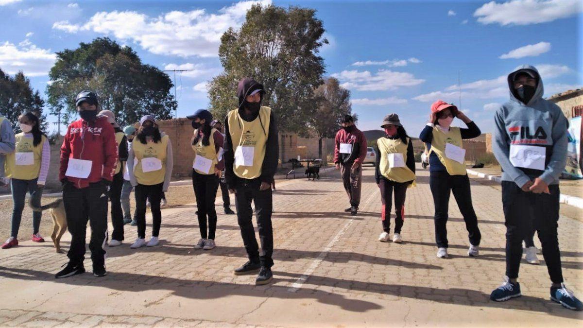 Club Joven Indígena en Barrios