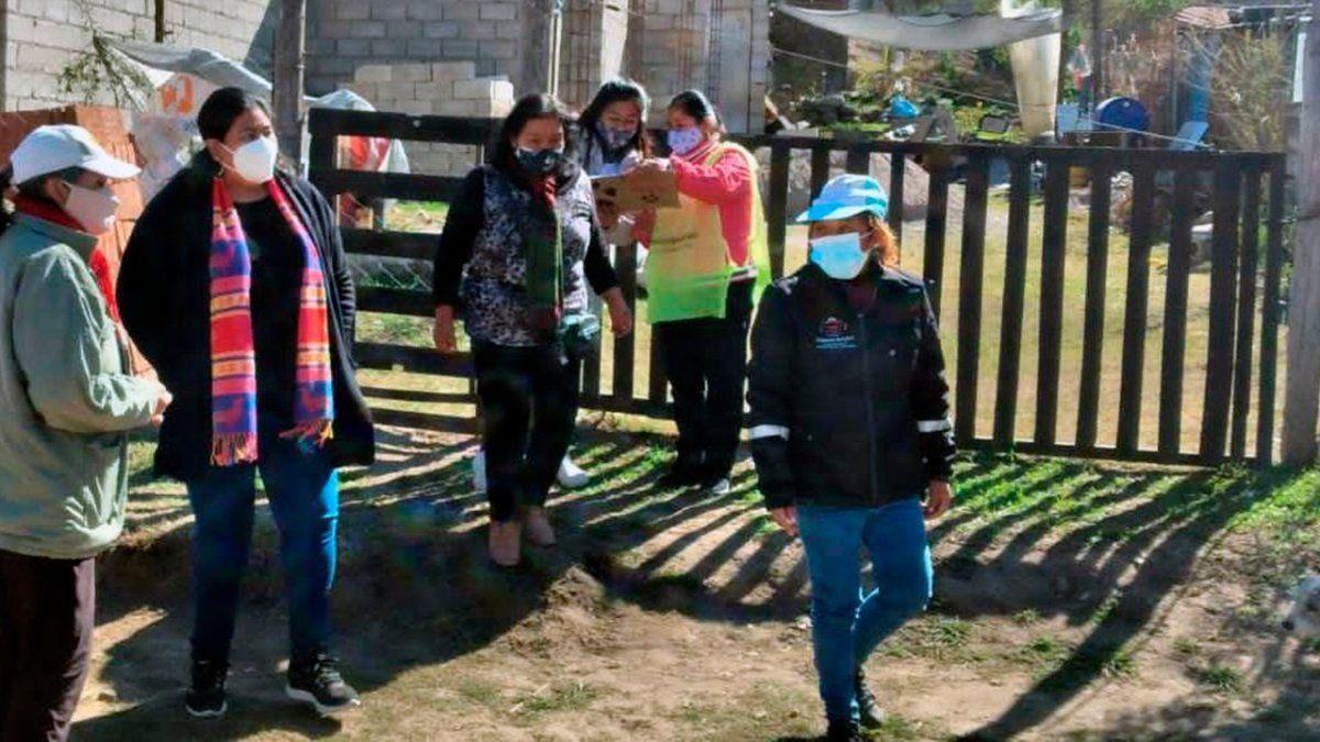 Familias de Barrios capitalinos recibieron ayuda alimentaria
