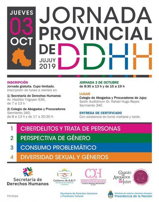 Jornada de Derechos Humanos en Capital y San Pedro