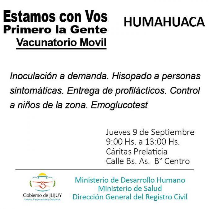 Estamos con Vos - Primero la Gente visitará Humahuaca