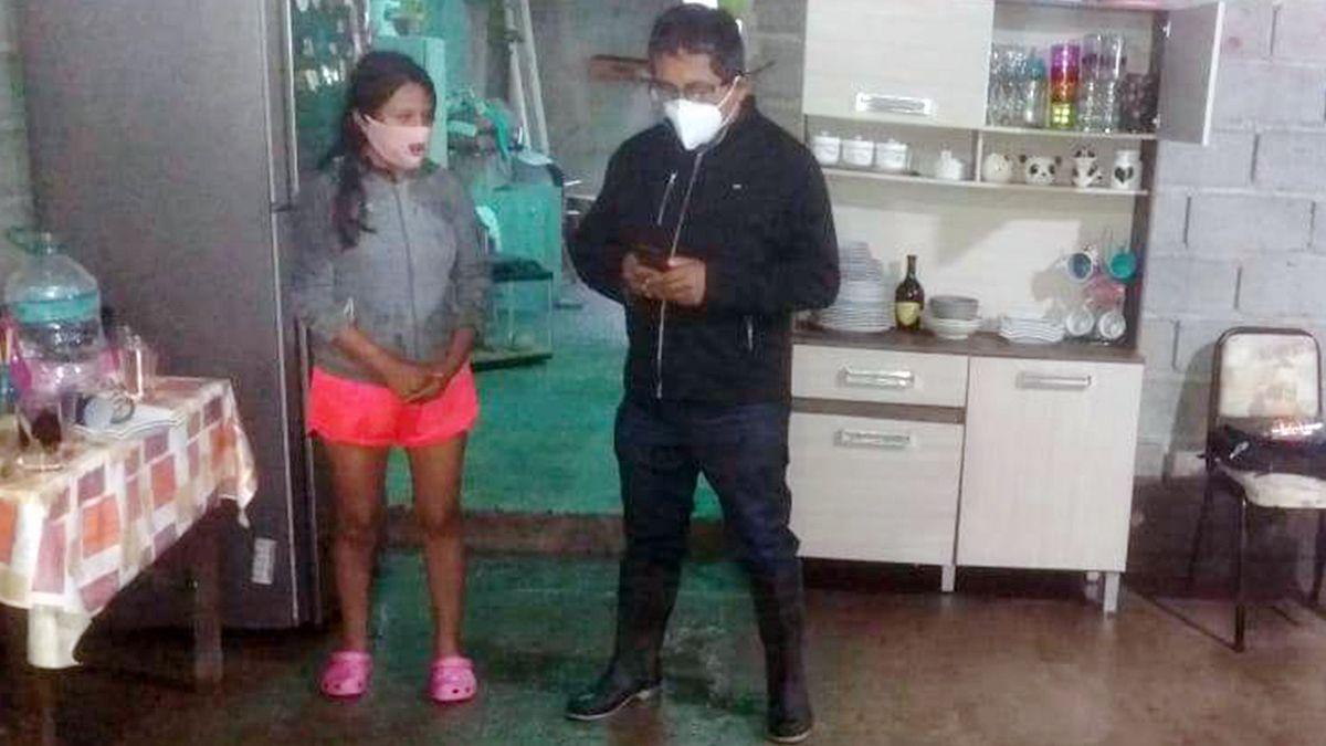 Personal del Ministerio de Desarrollo Humano relevó a familias de Capital y Palpalá afectadas por el temporal